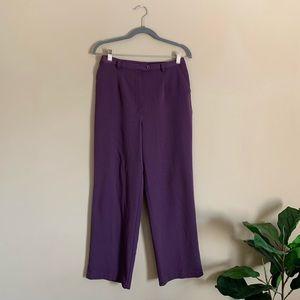 Vintage high-rise Plum Trousers